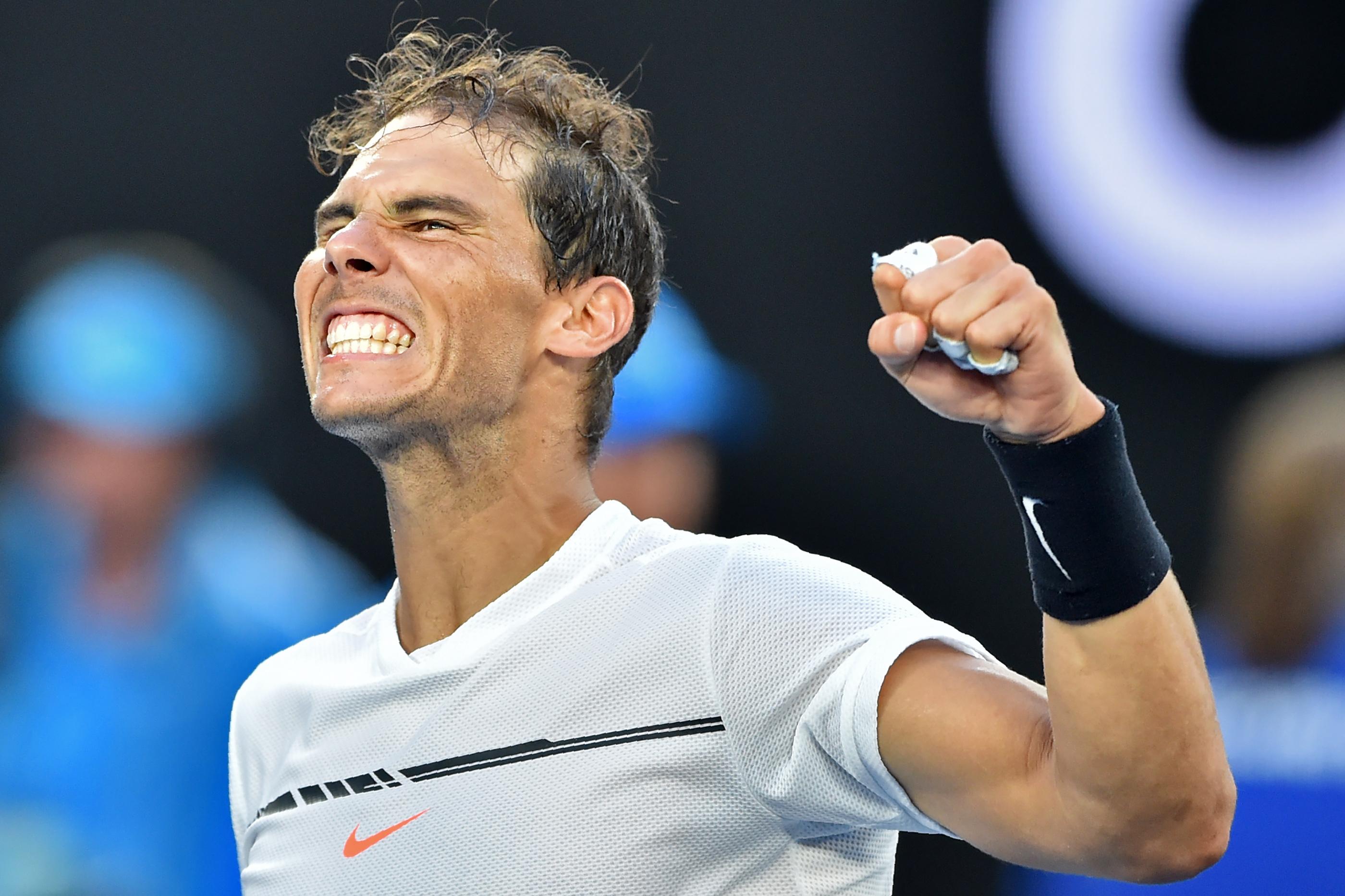 Tennis - Open Australie - Rafael Nadal, la fureur de revivre