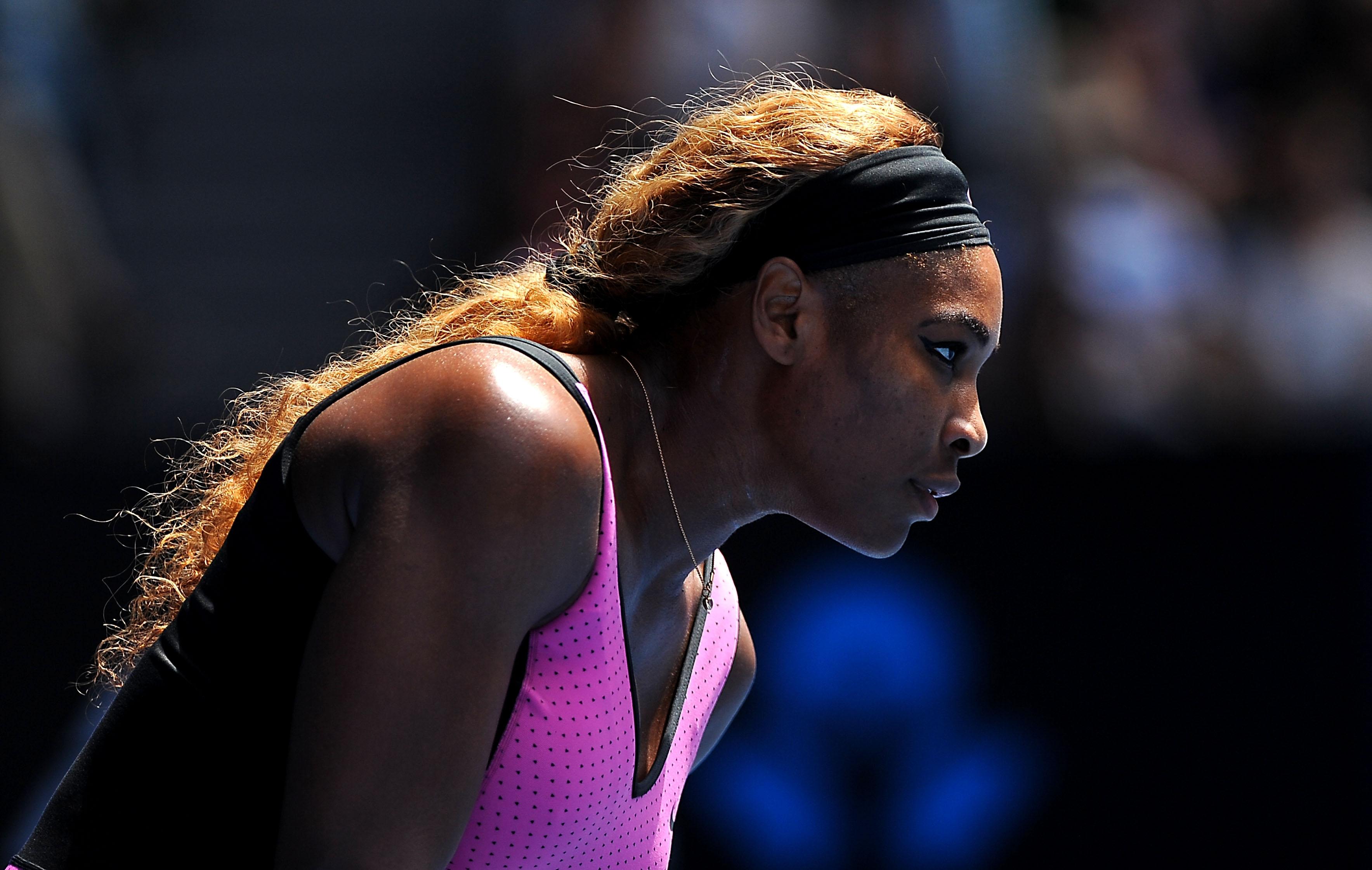 Serena Williams fait illusion