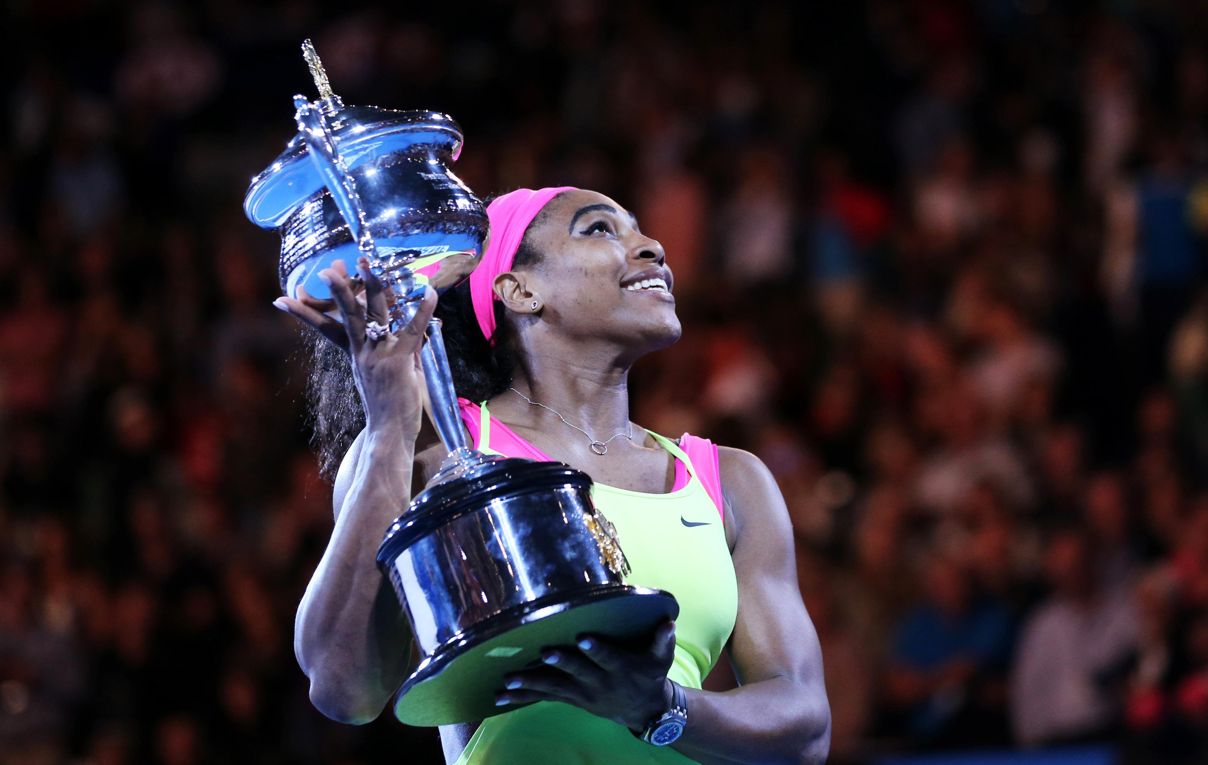 Tennis : Open Australie - S. Williams : �Je dois penser � en gagner 20�