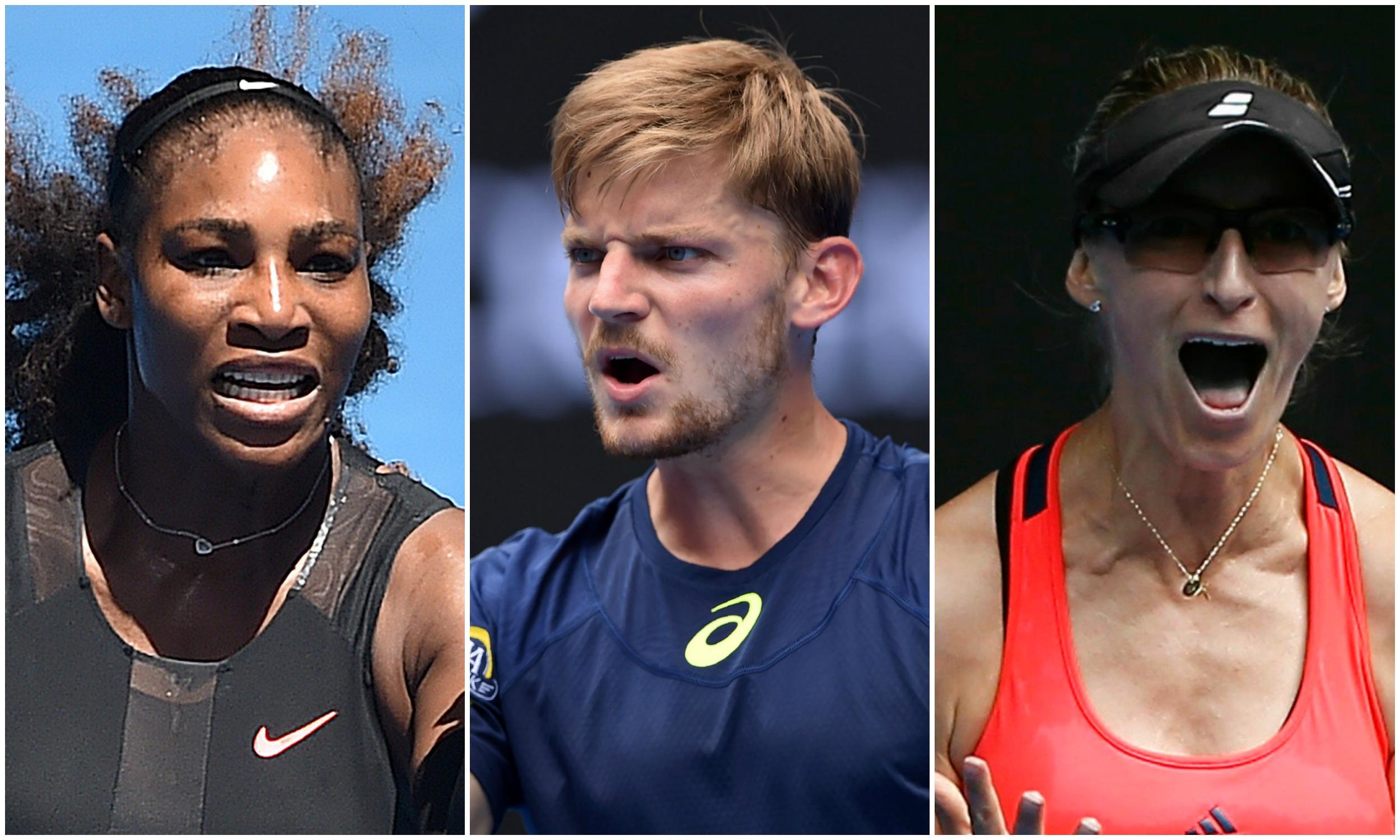 Tennis - Open Australie - Serena, Goffin, Lucic-Baroni : le résumé de la nuit à Melbourne