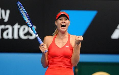 Tennis : Open Australie - Sharapova en mode Agassi