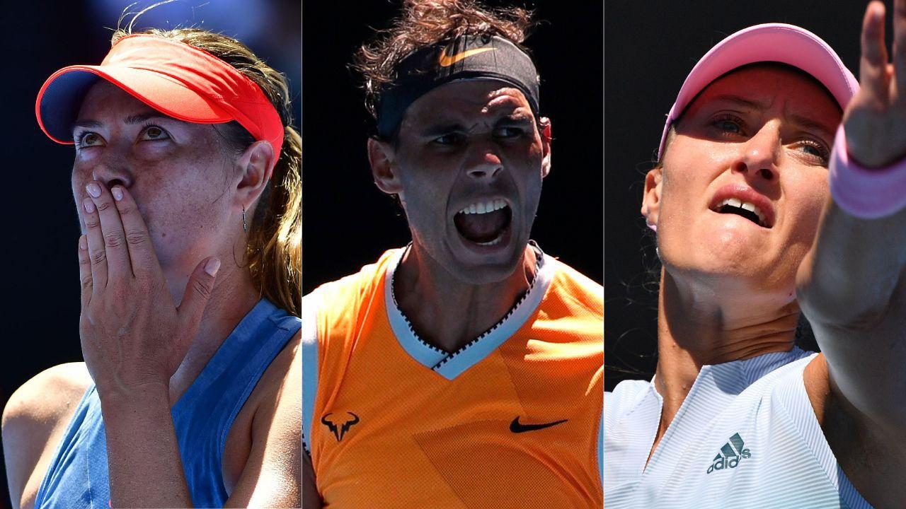 Tennis - Open Australie - Sharapova, Nadal, Mladenovic : ce qu'il faut retenir de la nuit à Melbourne