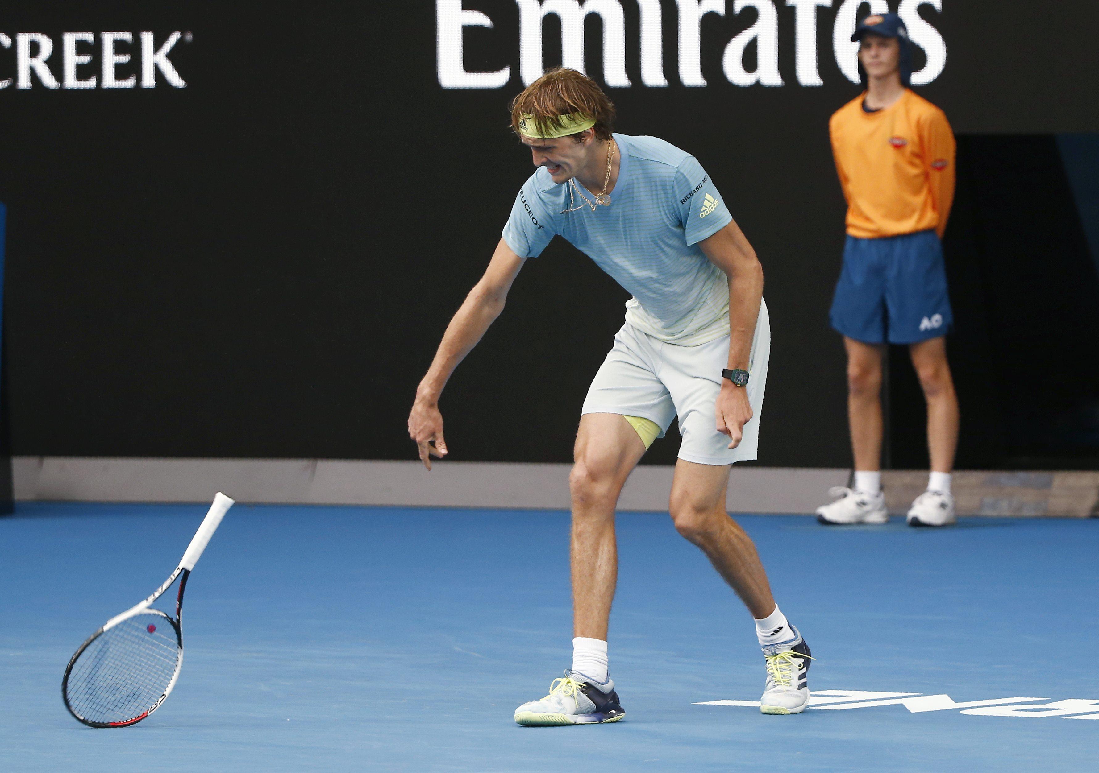 Tennis - Open Australie - Alexander Zverev n'y arrive toujours pas en Grand Chelem