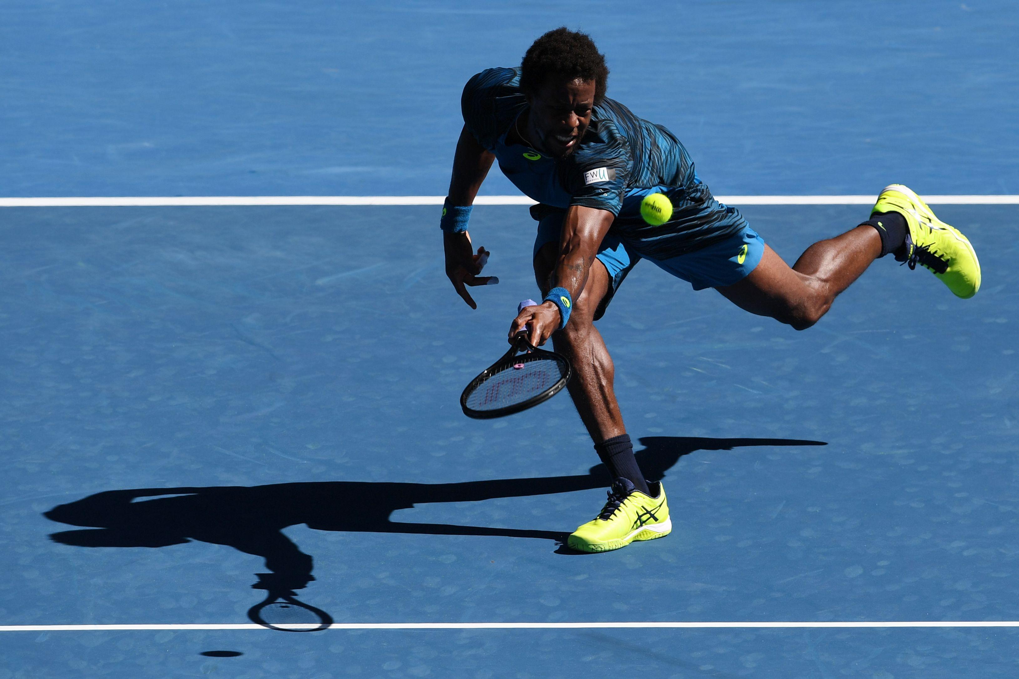 Tennis - Open Australie - Monfils, la qualification et des coups de raquette magiques