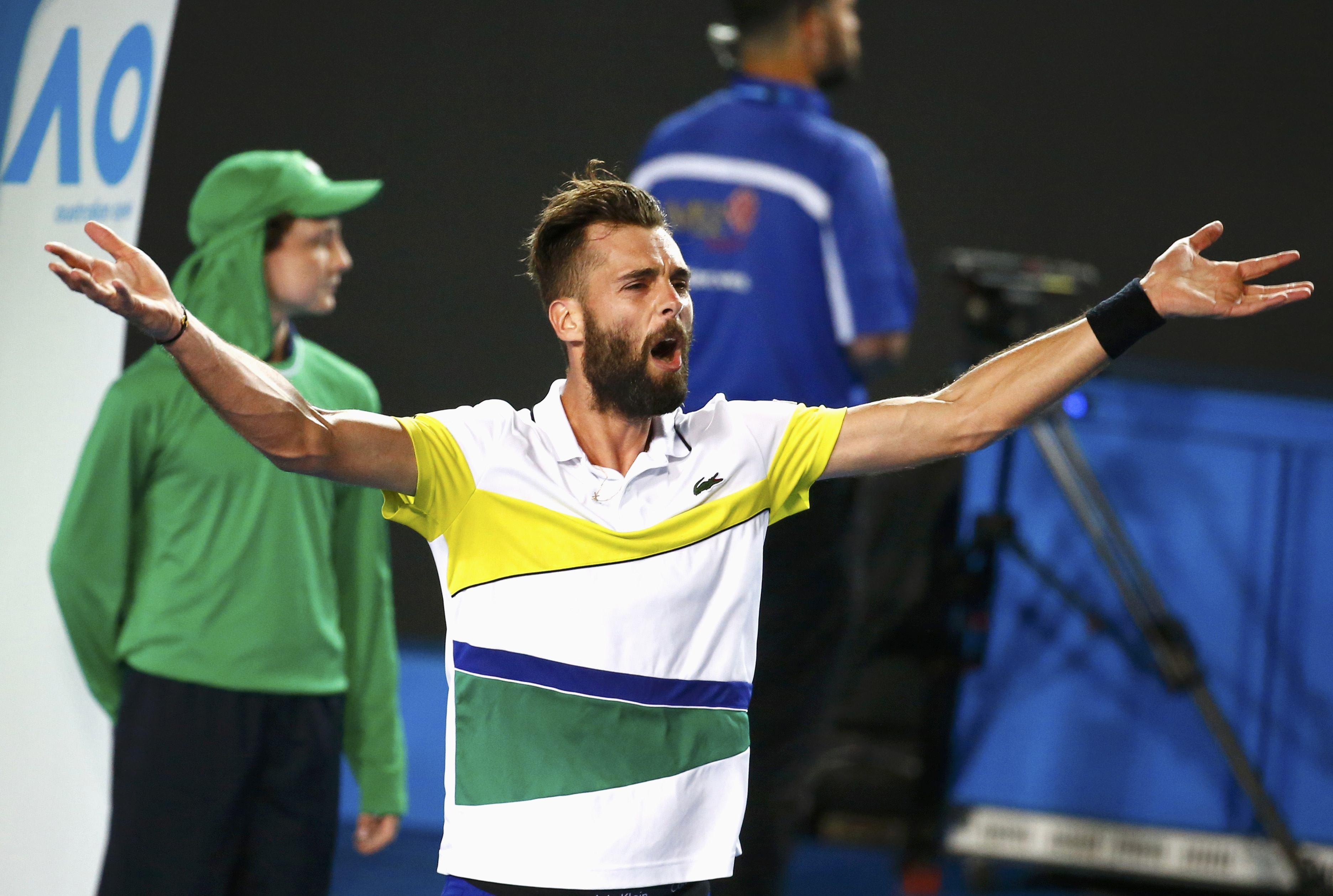 Tennis - Open Australie - Paire, une perf' sans l'écume des mauvais coups