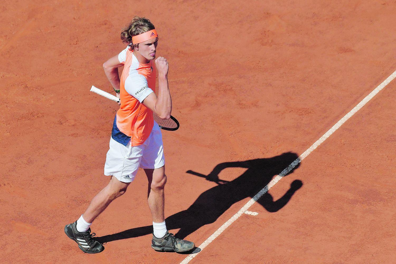 Tennis - Roland-Garros - Alexander Zverev, l'étoile montante