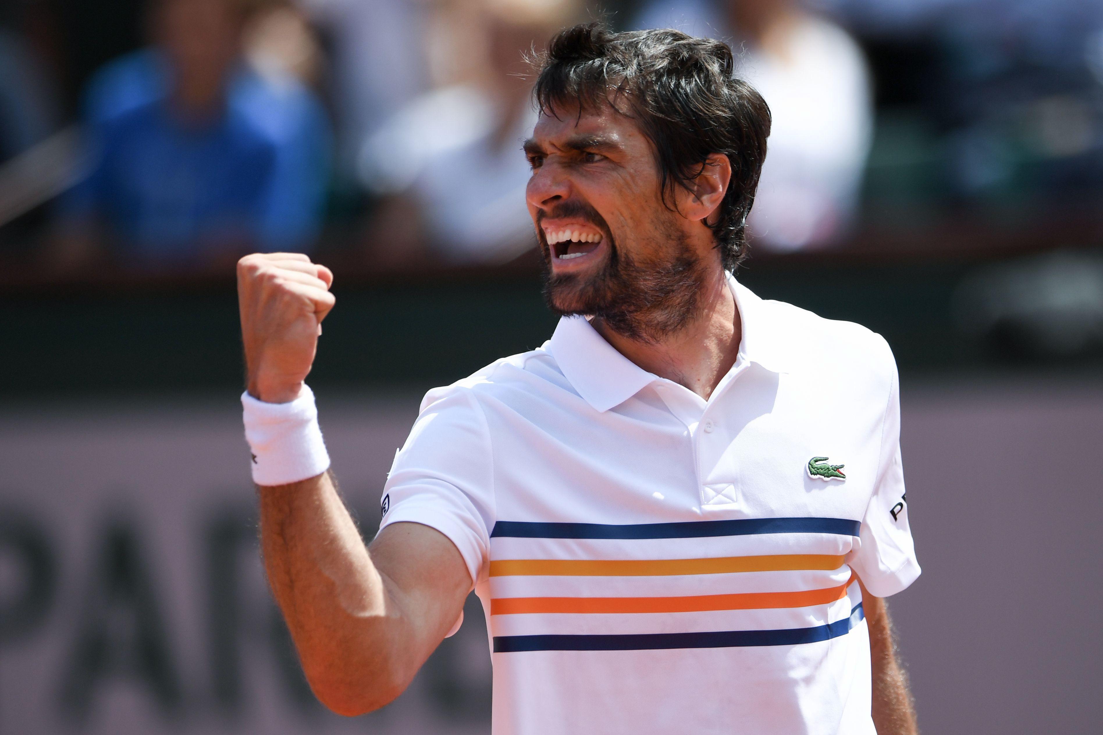 Tennis - Roland-Garros - Chardy s'offre une grande première sur le court Philippe Chatrier