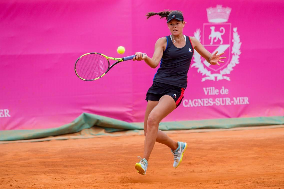 Tennis - Roland-Garros - Chloé Paquet: «Jouer Roland-Garros, c'est énorme»