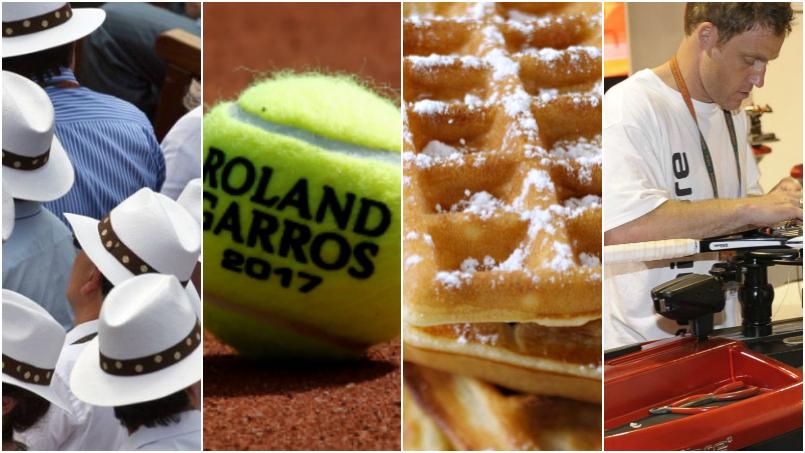 Tennis - Roland-Garros - Cordage, balles, gaufres : dix chiffres insolites de Roland-Garros