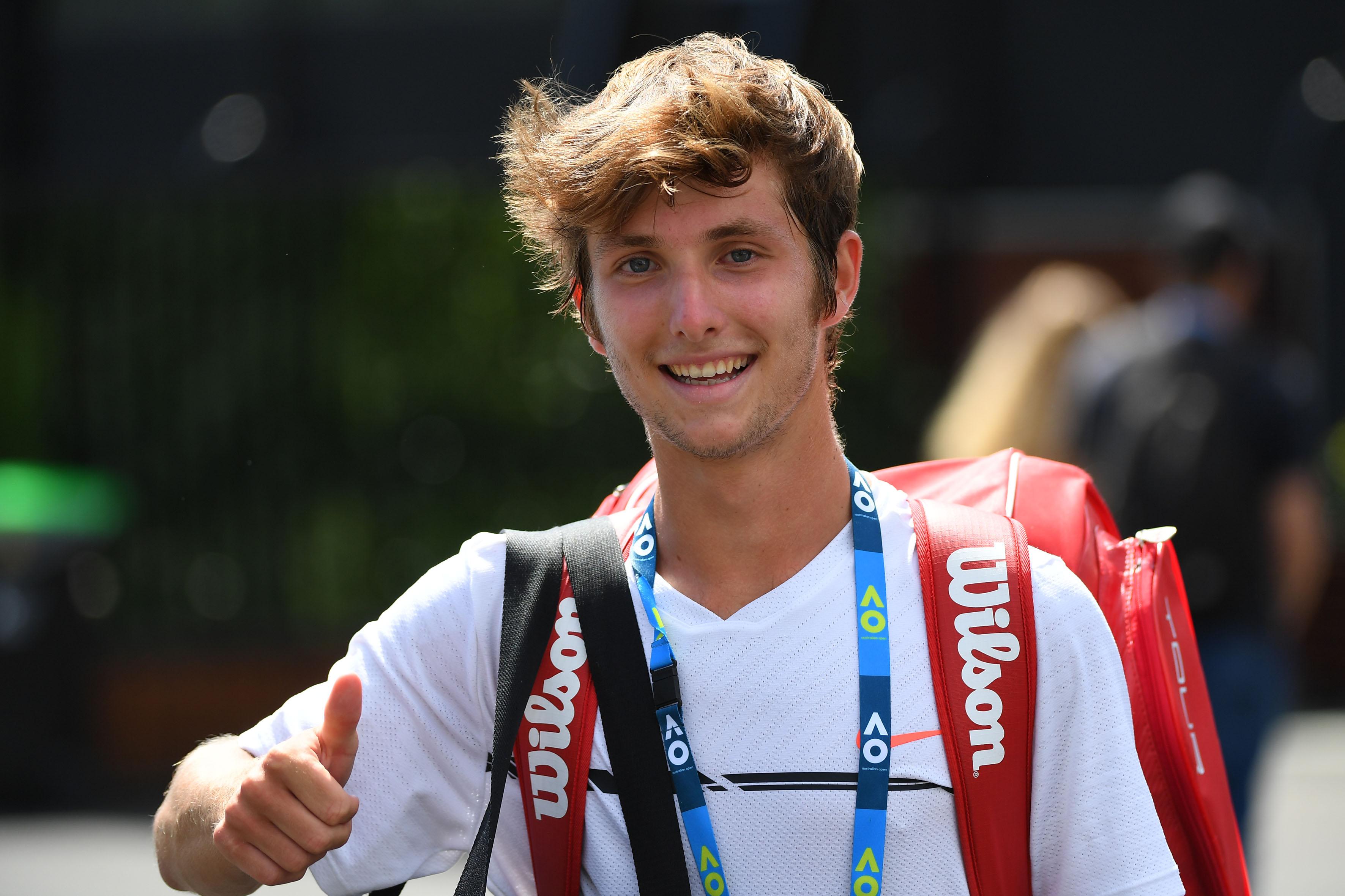 Tennis - Roland-Garros - Corentin Moutet, un espoir atypique à l'assaut de Roland-Garros