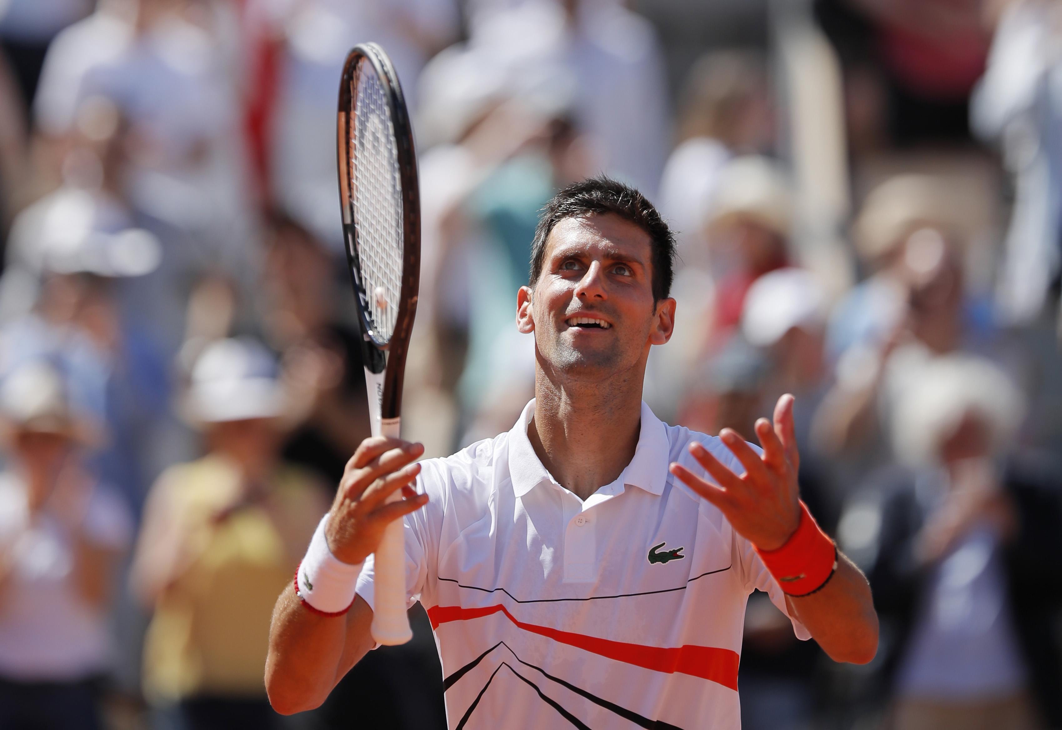 Tennis - Roland-Garros - Dans l'ombre du choc Federer-Nadal, Djokovic en marche vers l'histoire