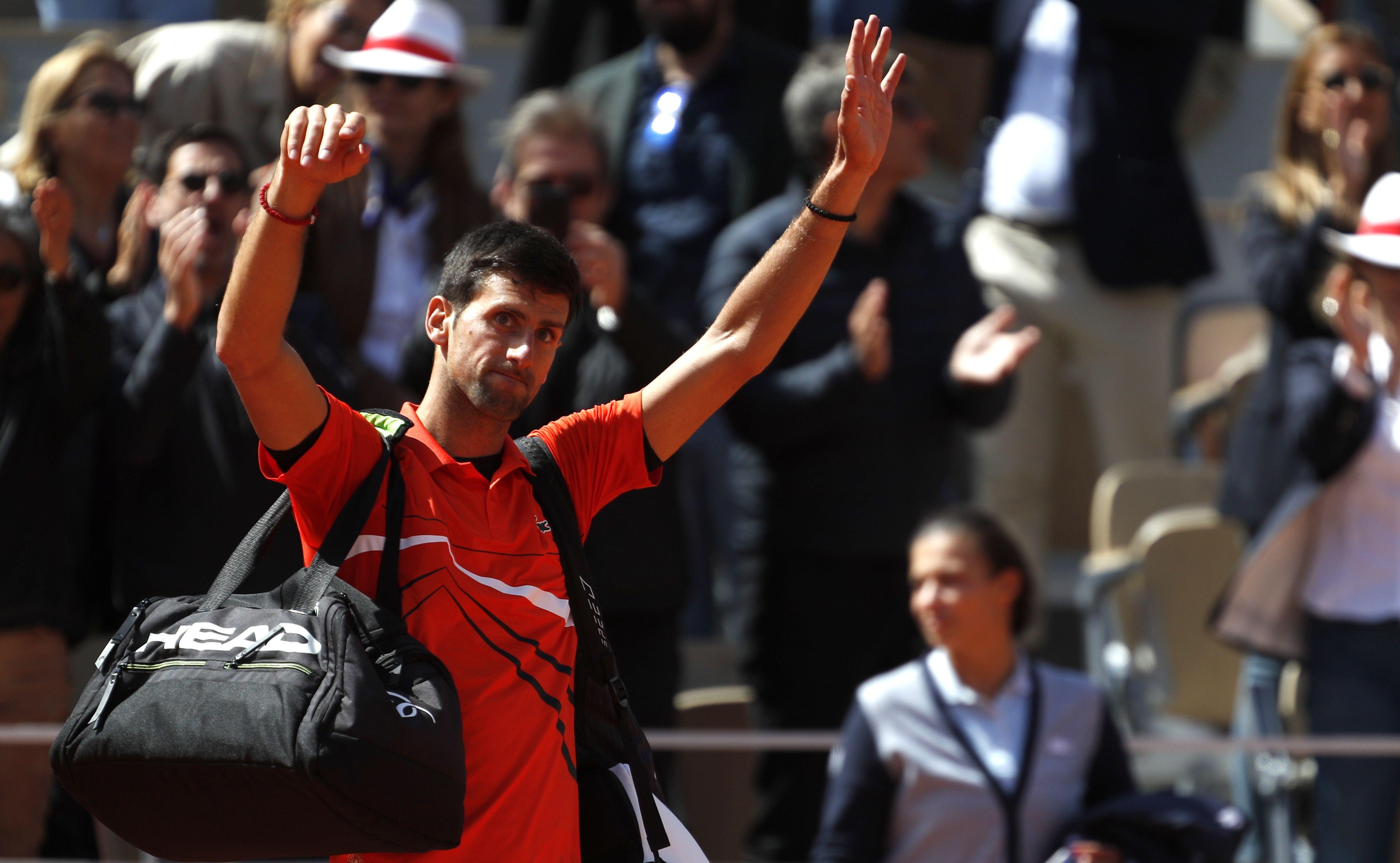 Tennis - Roland-Garros - Djokovic : «Difficile d'être à son meilleur niveau dans un ouragan»