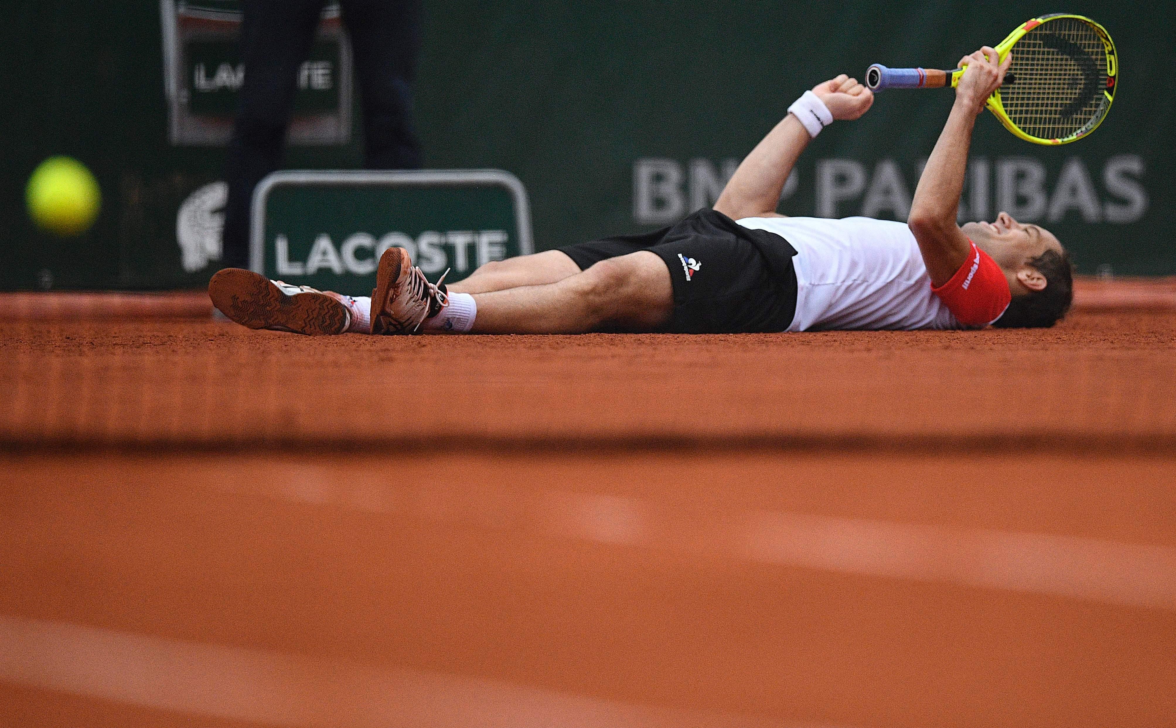 Tennis : Roland-Garros - Forget : �Tactiquement, Richard a fait le match parfait�