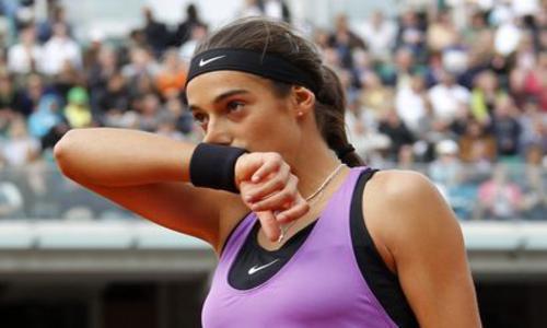 Garcia a failli être Zorro - Roland-Garros - Tennis -