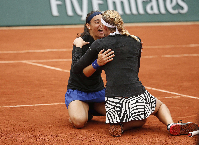 Tennis : Roland-Garros - </b>Mladenovic-Garcia, sur un air de Fed Cup