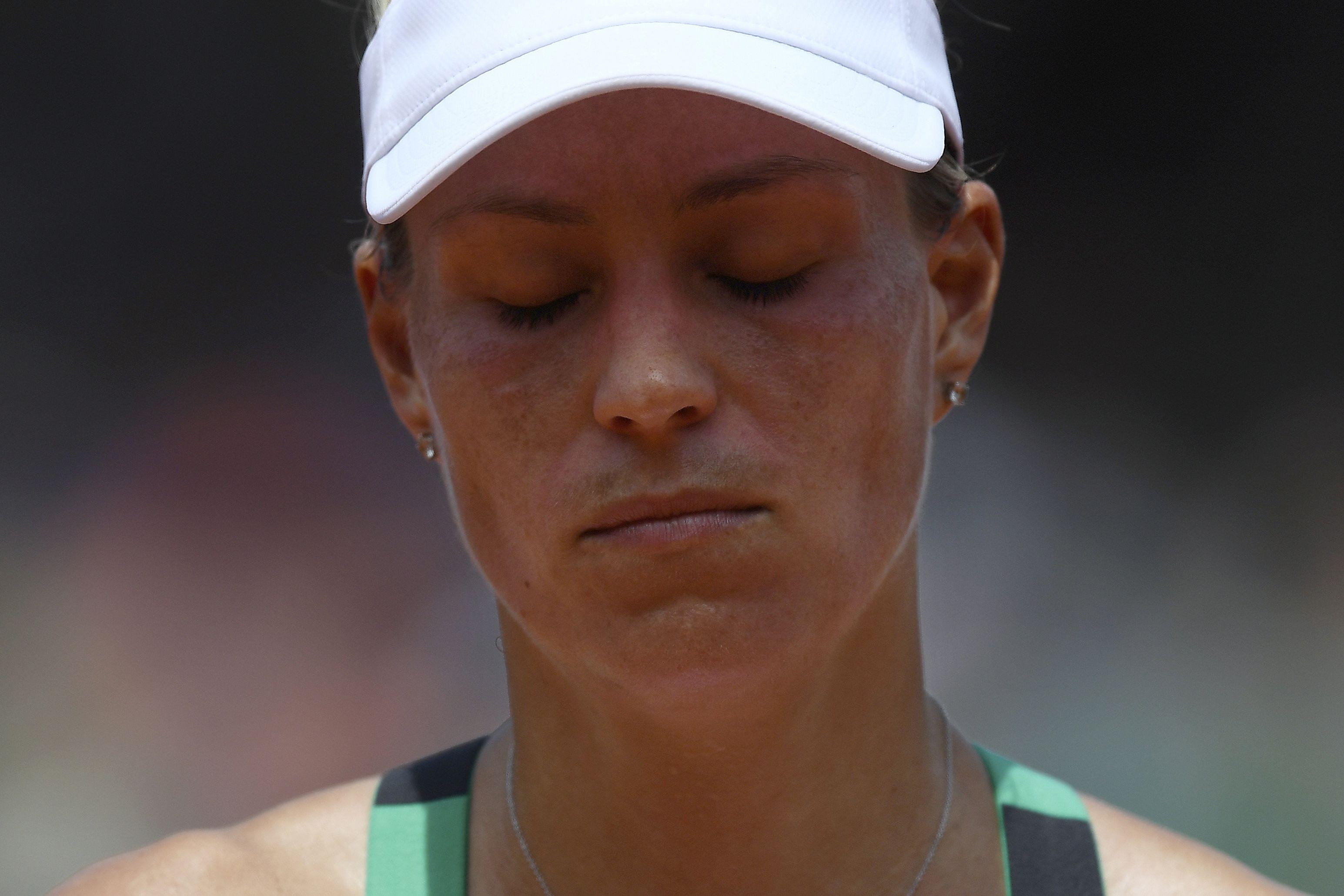 Tennis - Roland-Garros - Kerber : «Je ne me sens pas bien sur terre battue»