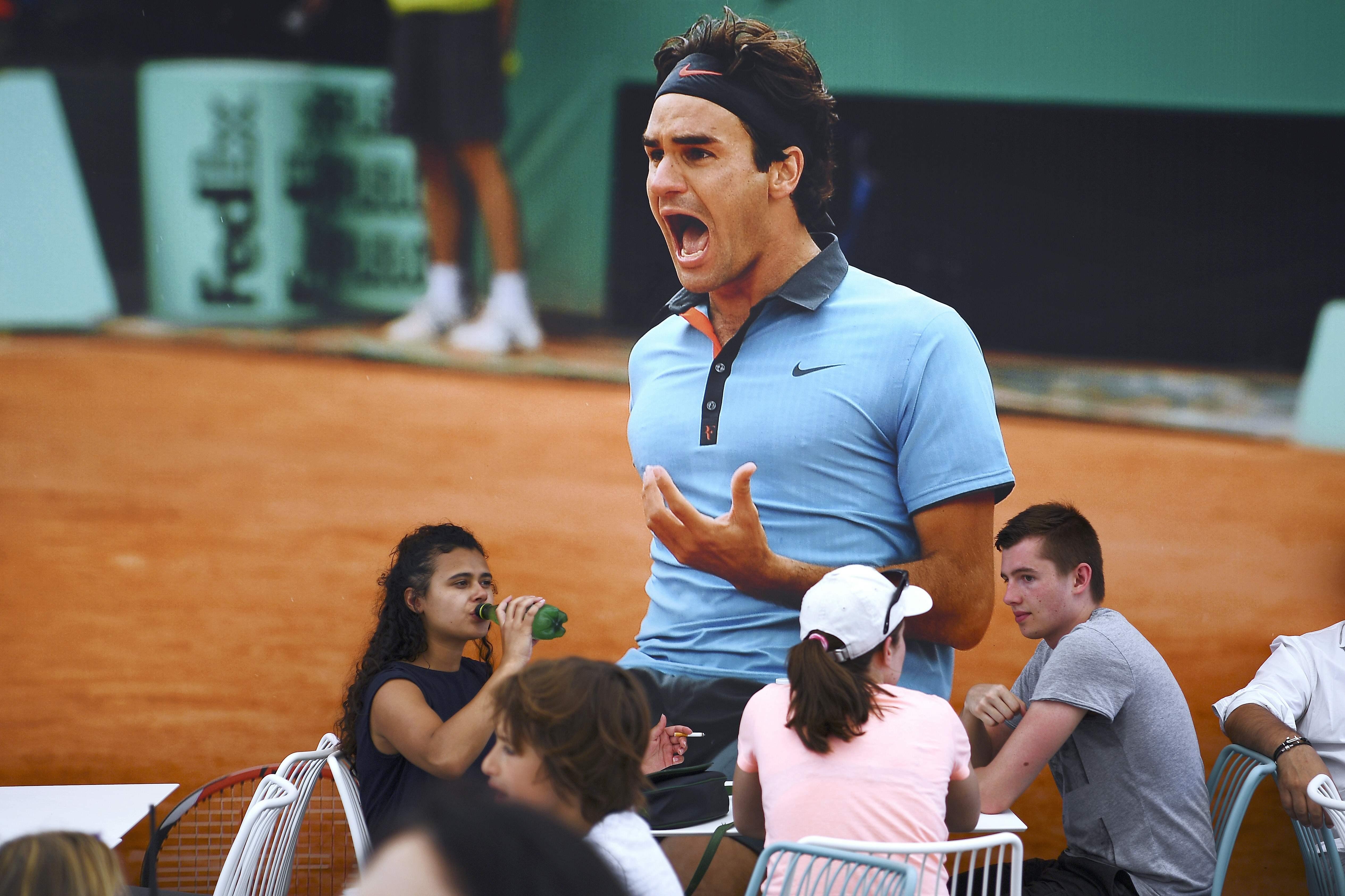 Tennis - Roland-Garros - L'ombre nostalgique de Roger Federer