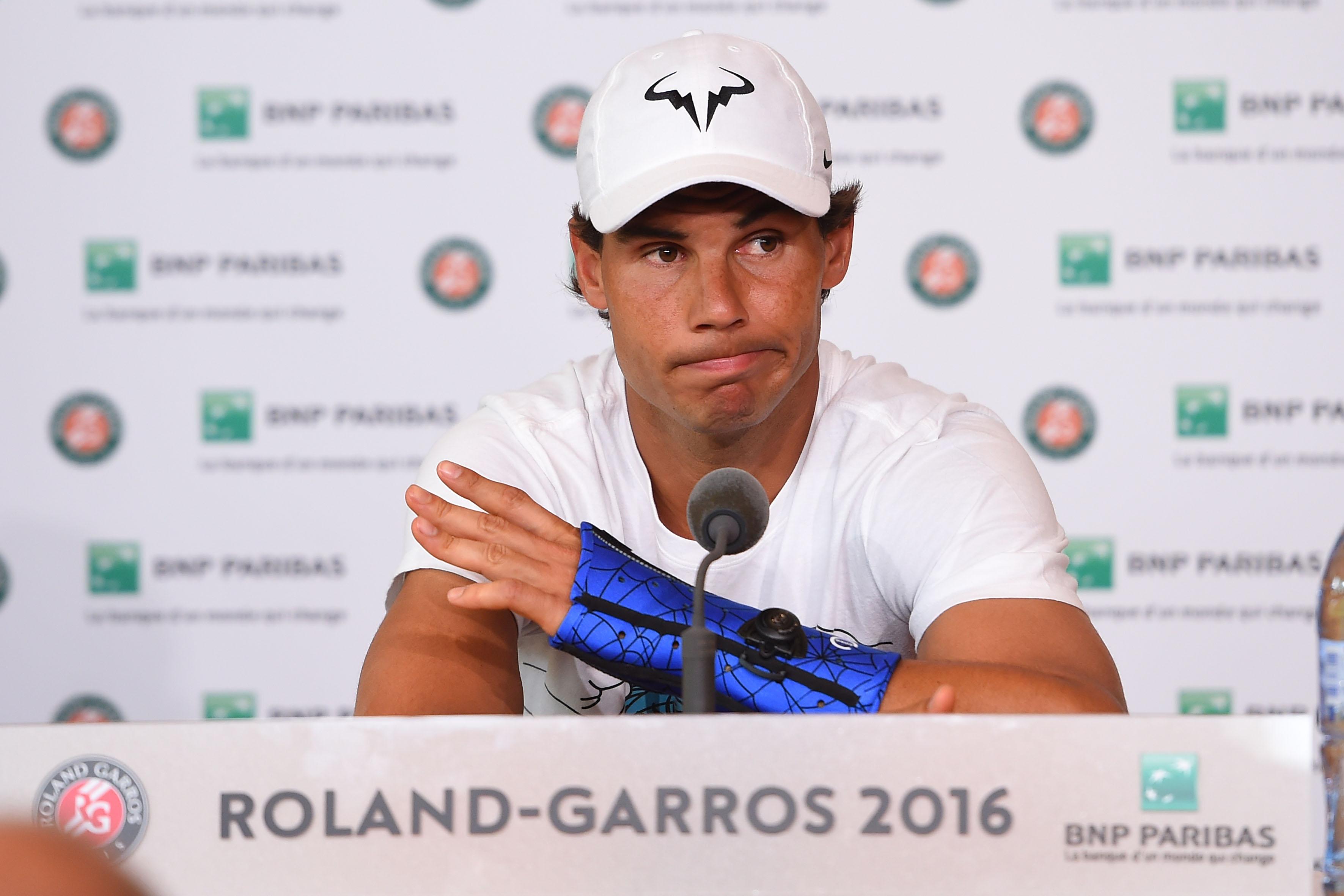 Tennis - Roland-Garros - Les 5 phrases à retenir de la conférence de presse de Nadal