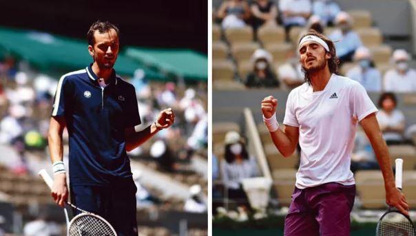 Tennis - Roland-Garros - Medvedev-Tsitsipas : un choc électrique pour enflammer Roland-Garros