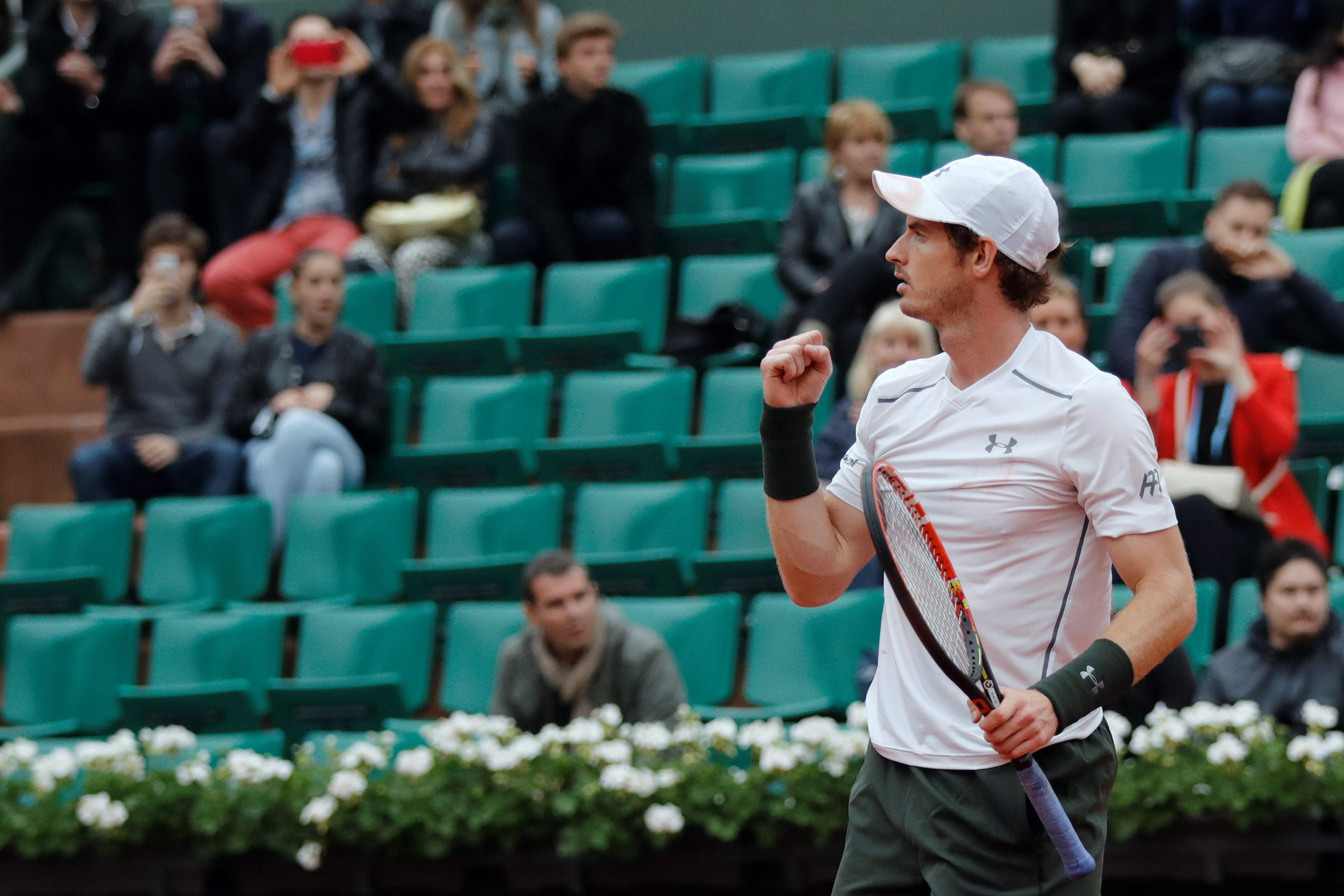 Tennis : Roland-Garros - Murray : �J?ai d�j� jou� plusieurs fois contre Richard � Roland-Garros�