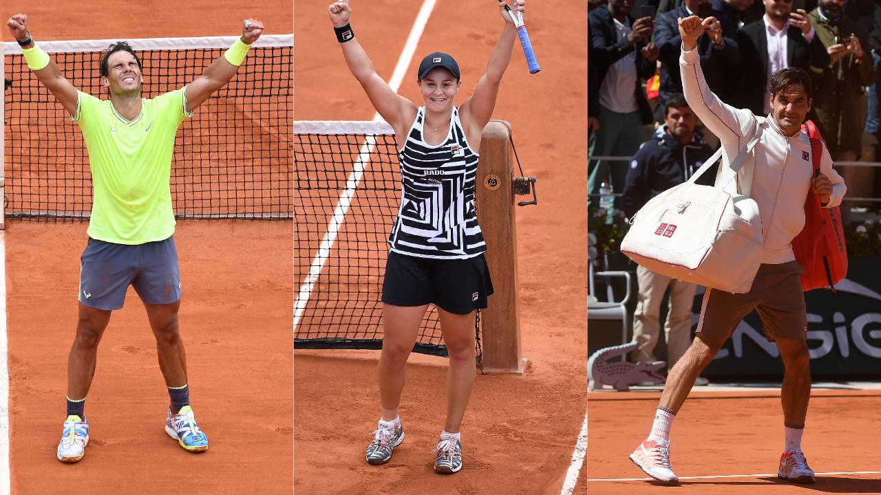 Tennis - Roland-Garros - Nadal, Barty, Federer : Ce qu'il faut retenir de Roland-Garros