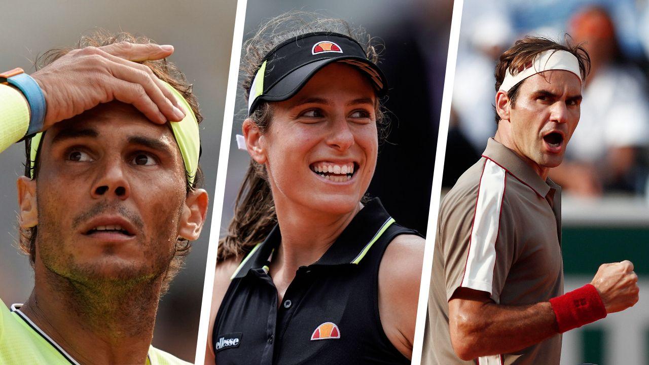 Tennis - Roland-Garros - Nadal, Konta, Federer : ce qu'il faut retenir de la journée de mardi à Roland-Garros