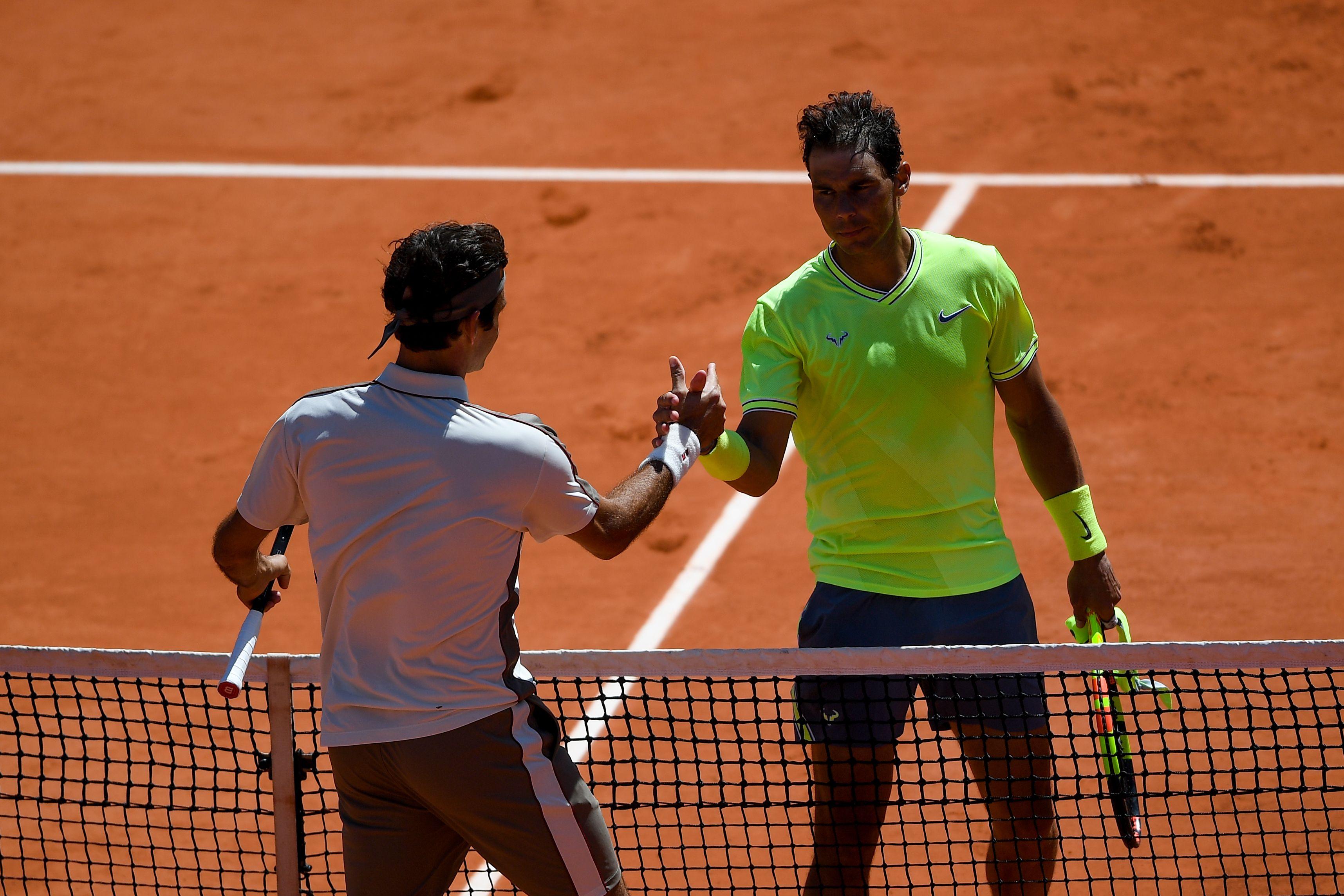 Tennis - Roland-Garros - Nadal toujours dans le vent face à Federer à Roland-Garros