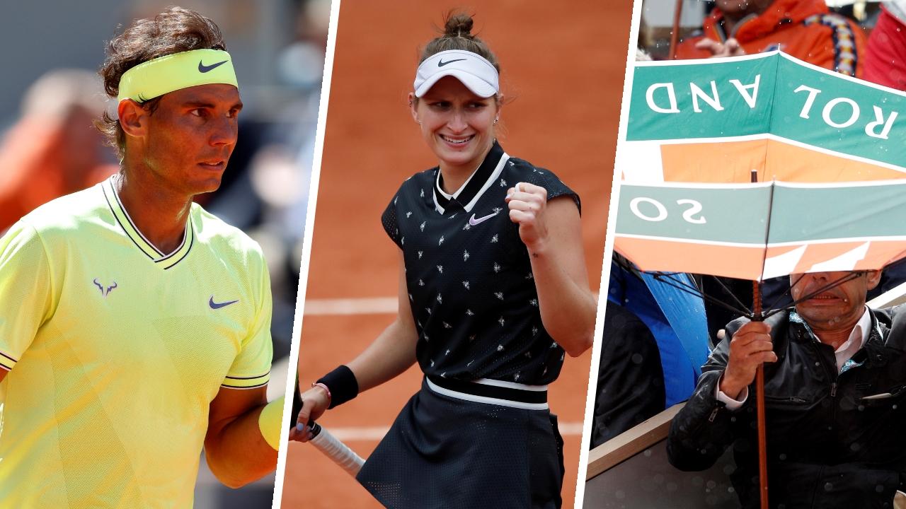 Tennis - Roland-Garros - Nadal, Vondrousova, vent : ce qu'il faut retenir de la 13e journée à Roland-Garros