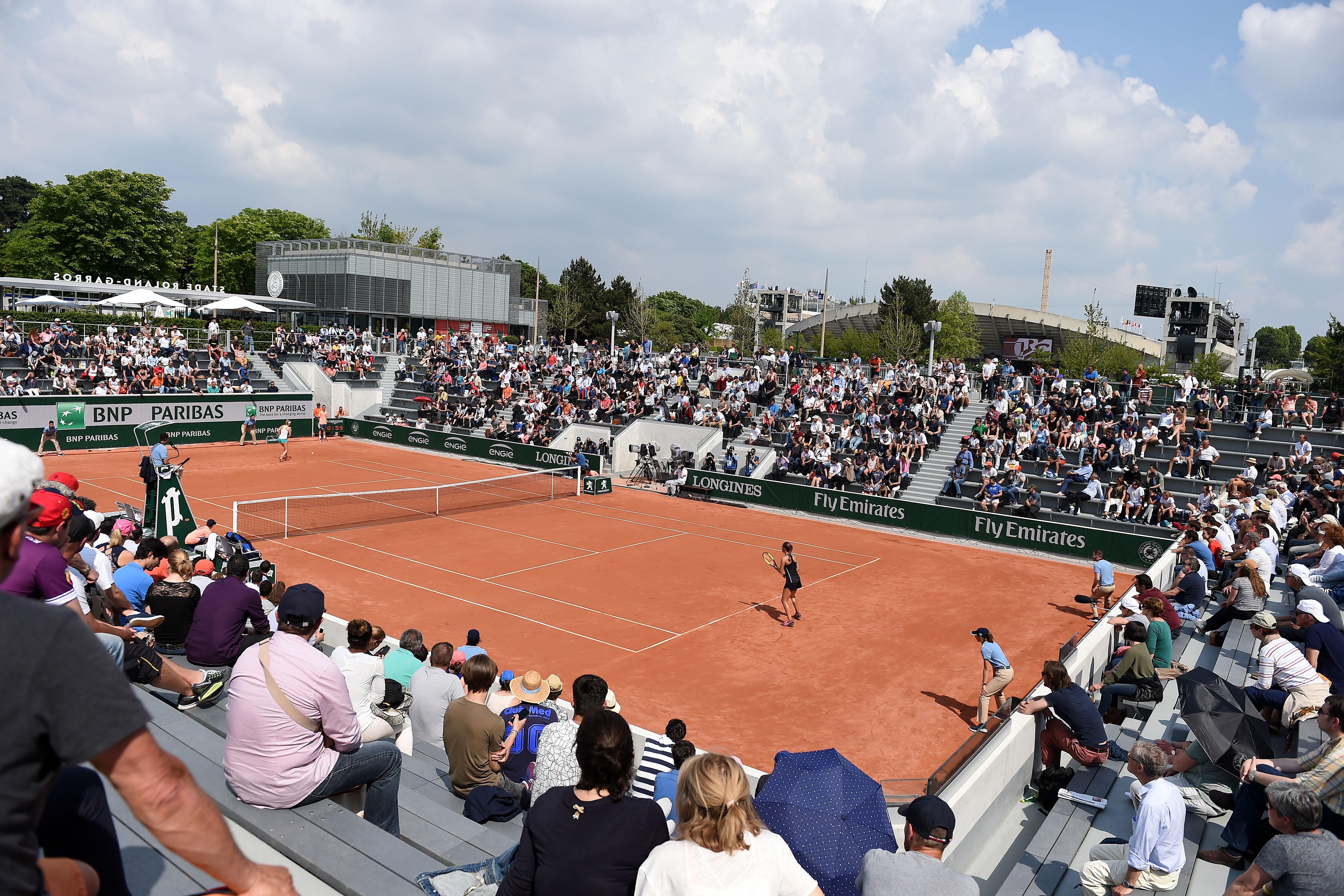 Tennis - Roland-Garros - Nouveaux courts et habits de fête à Roland-Garros