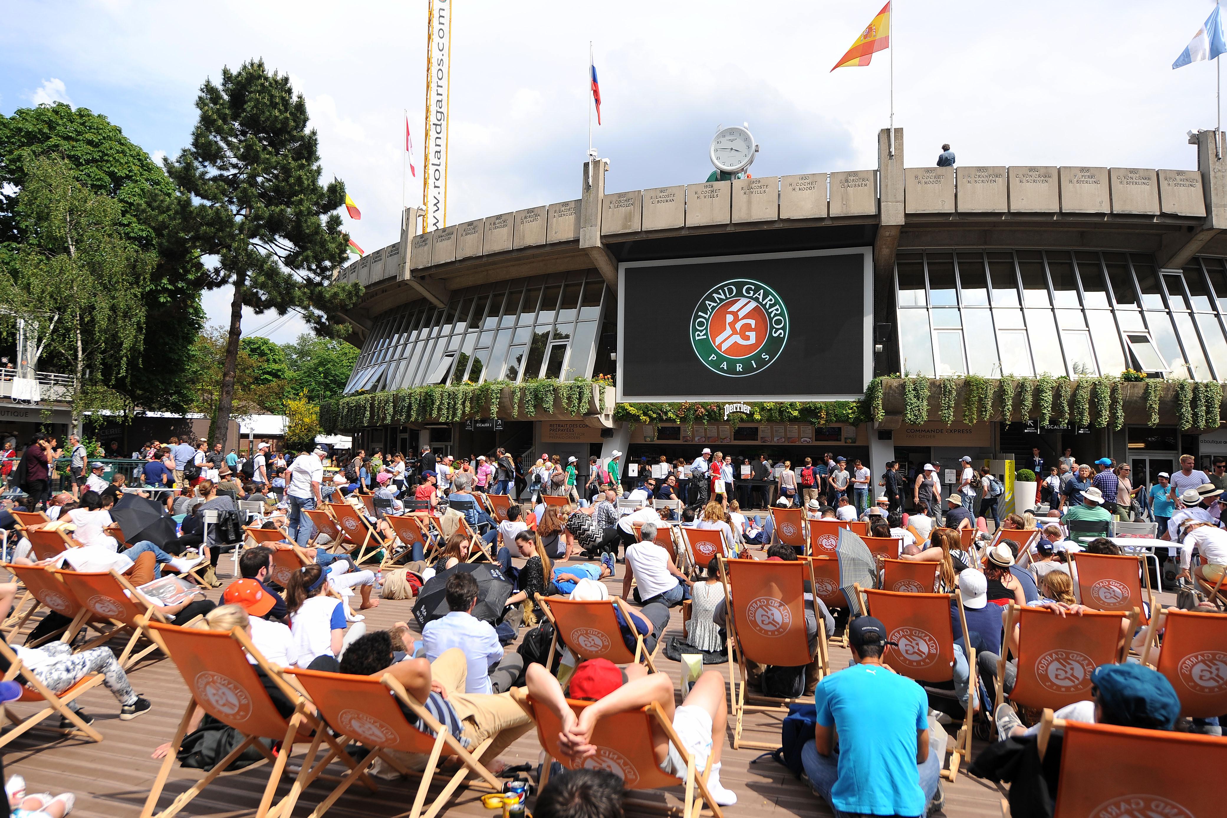 Tennis - Roland-Garros - Roland-Garros : les travaux (encore) interrompus