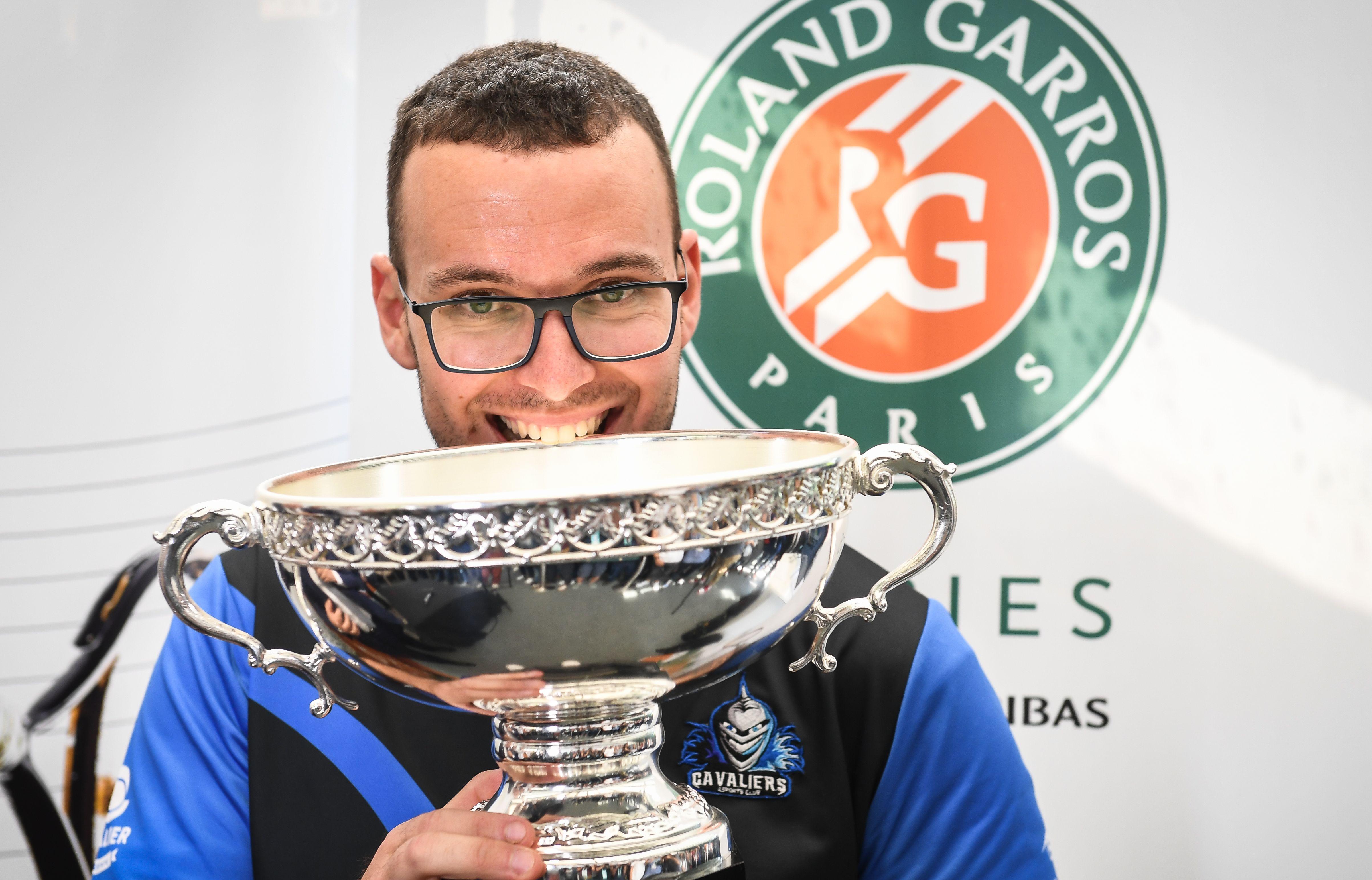 Tennis - Roland-Garros - Roland-Garros récompense son premier champion de egaming