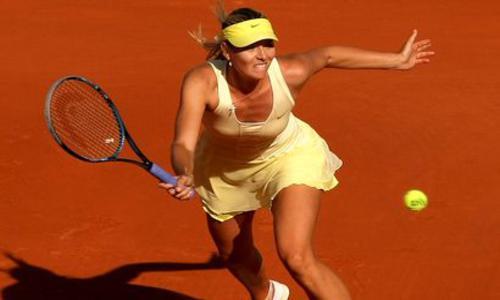 Sharapova, quelle battante ! - Roland-Garros - Tennis -