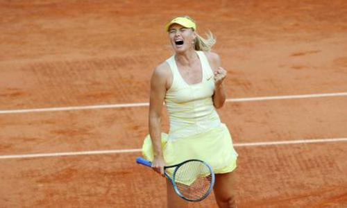 Sharapova tient son rang - Roland-Garros - Tennis -