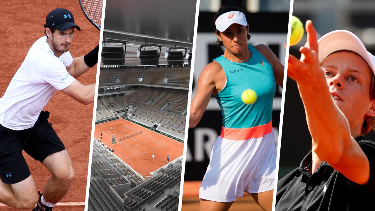 Tennis - Roland-Garros - Stade vide ou presque, toit, le choc Wawrinka-Murray: 5 raisons de suivre la première journée de Roland-Garros