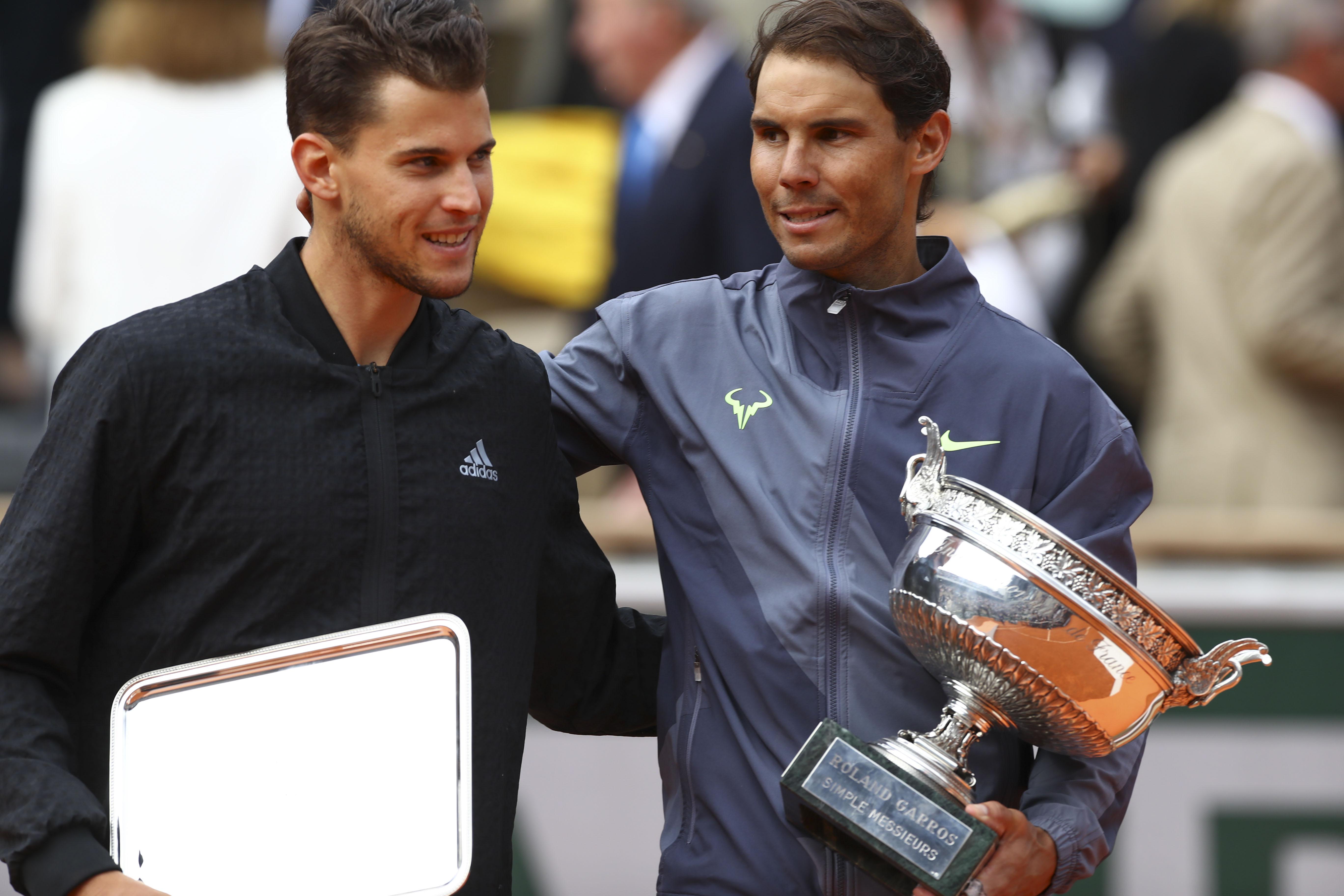 Tennis - Roland-Garros - Thiem sur Nadal : «Il m'a marché dessus»