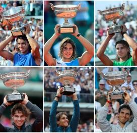 Les dix victoires historiques de Nadal à Roland-Garros