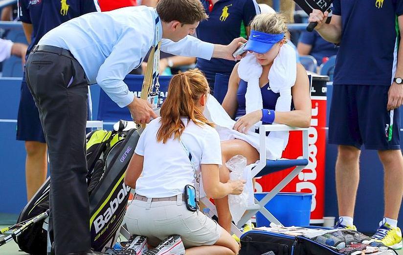 Tennis : US Open - Bouchard sonn�e, �limin�e