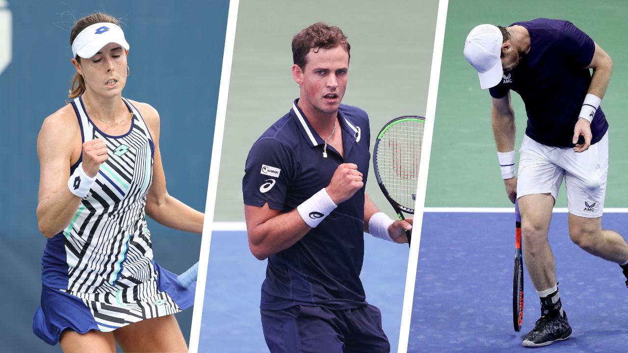 Tennis - US Open - Cornet, Pospisil, Murray : ce qu'il faut retenir de la nuit à l'US Open