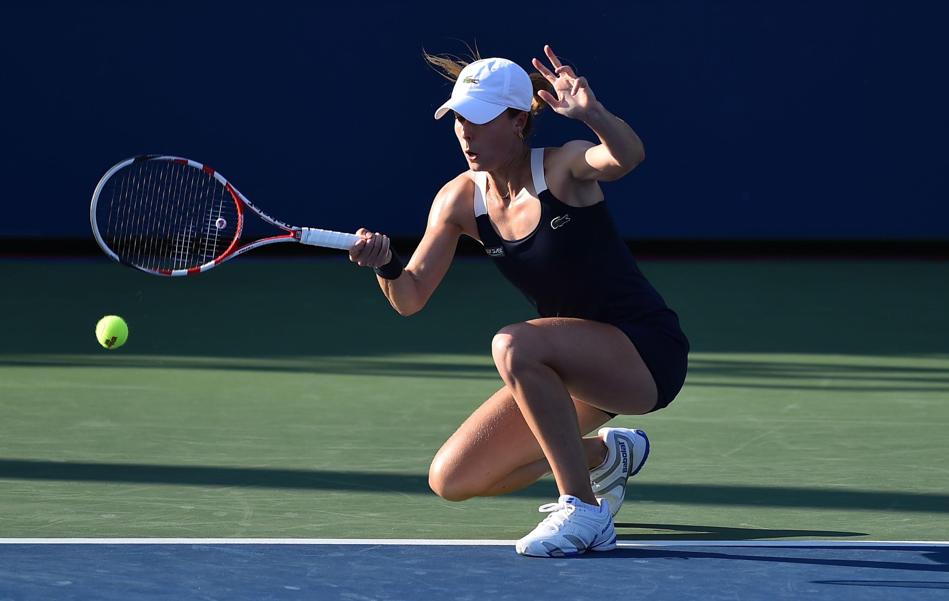 Tennis - US Open - Cornet tient bon la barre