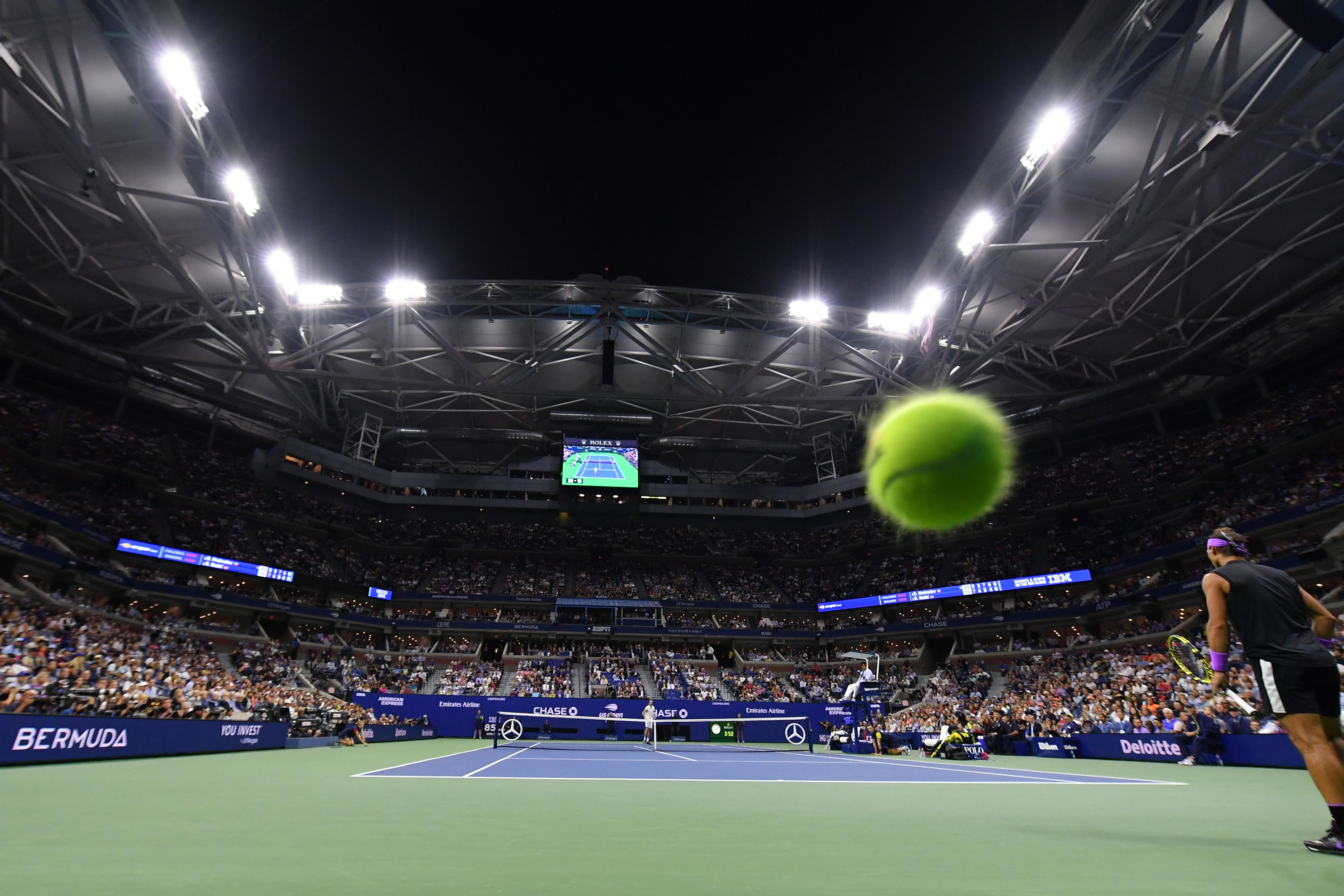 L'US Open opte pour une surface plus lente