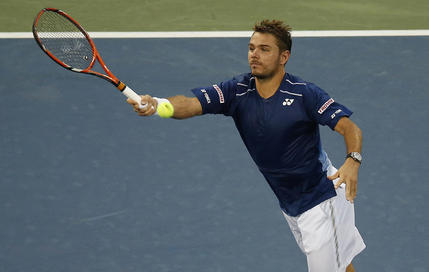Le 2e tour en DIRECT : Wawrinka en action