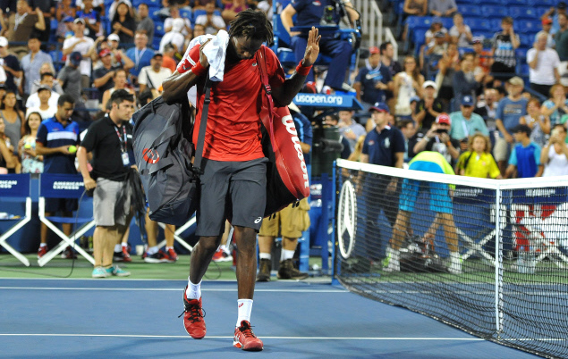 Tennis - US Open - Monfils dos en miettes dit stop, Nadal s'arrache