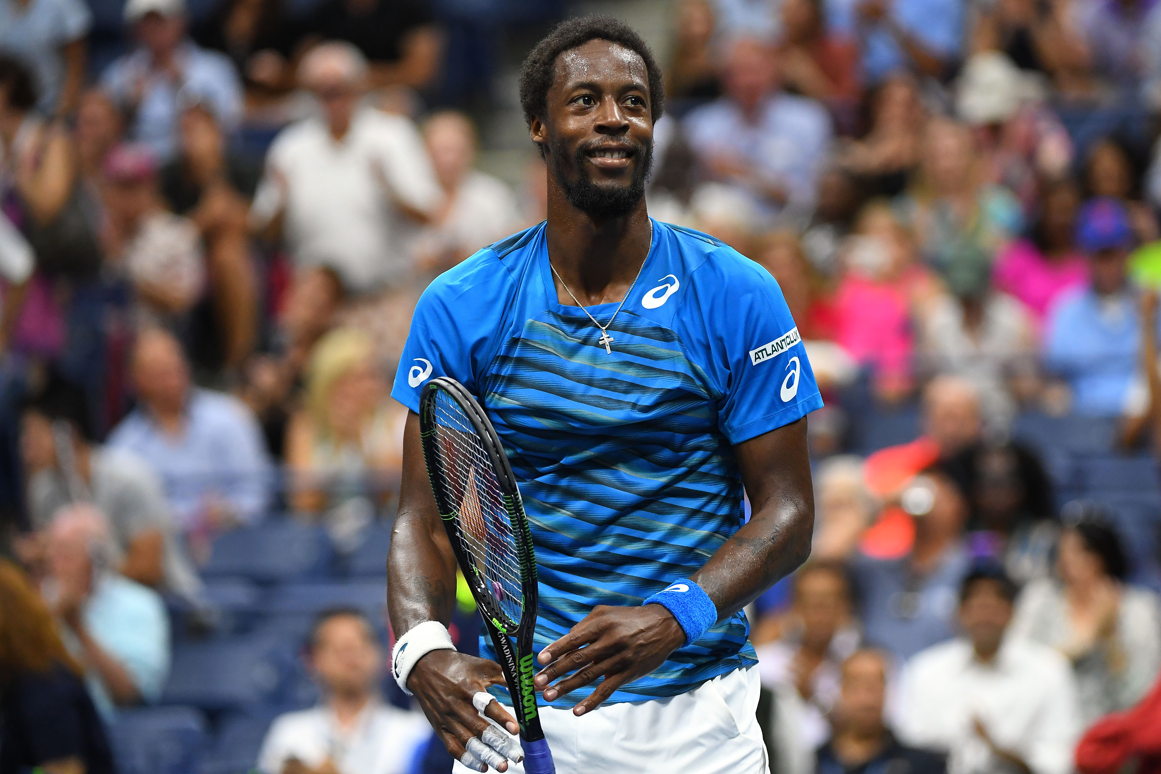 Tennis : US Open -  Monfils : «Djokovic est meilleur que moi, je n?ai aucune honte à le dire»