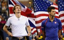 Andy Murray et Novak Djokovic