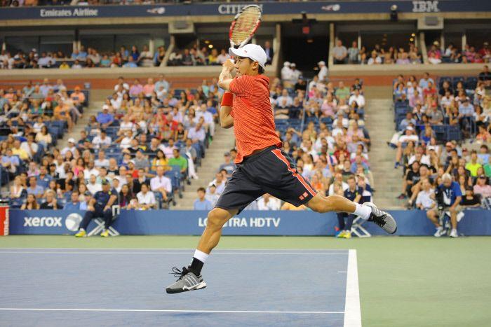 Tennis : US Open - Nishikori, plaisirs nocturnes