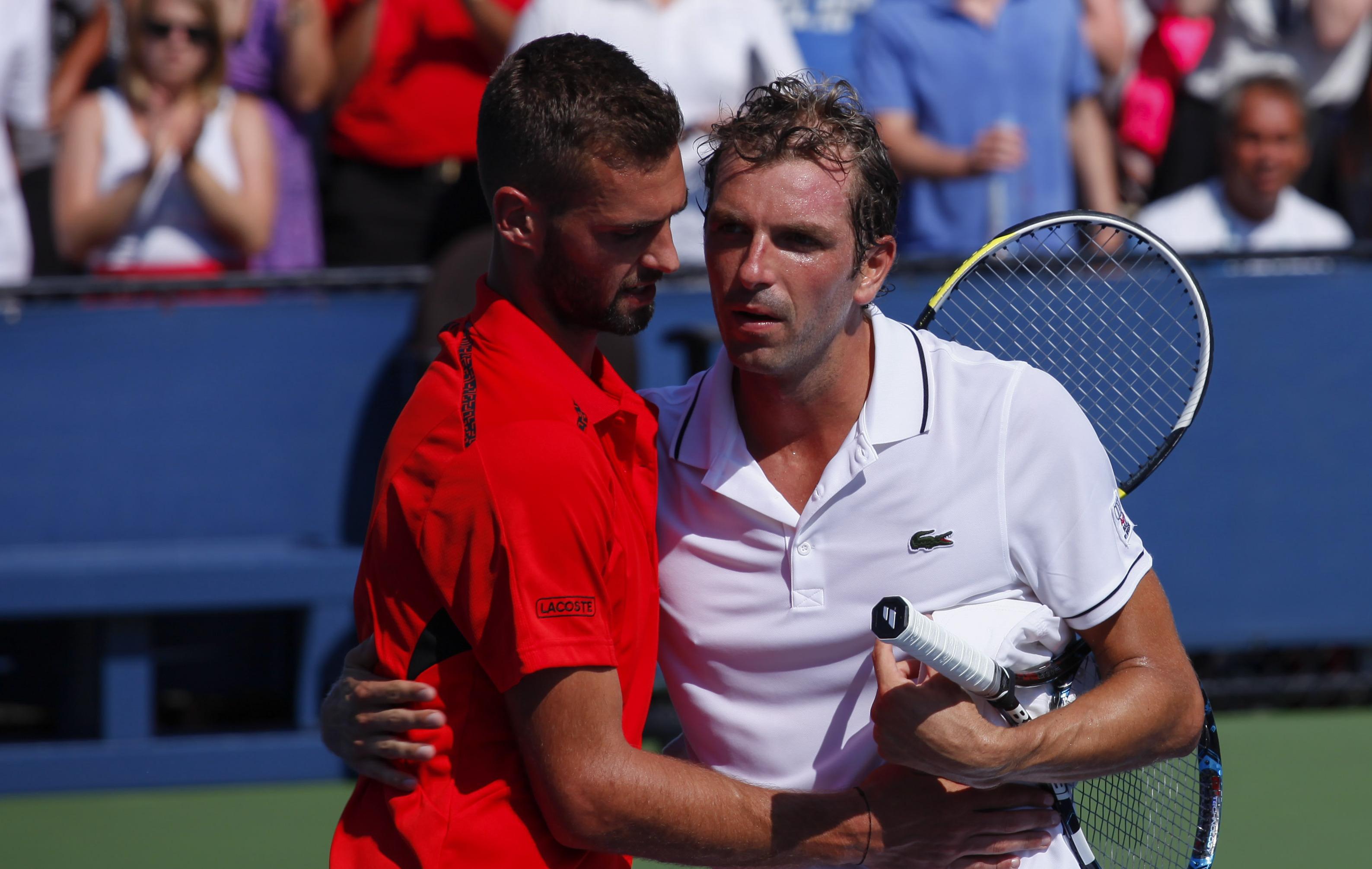 Tennis - US Open - Paire remporte le thriller fran�ais