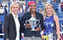 Martina Navratilova, Serena Williams, Chris Evert