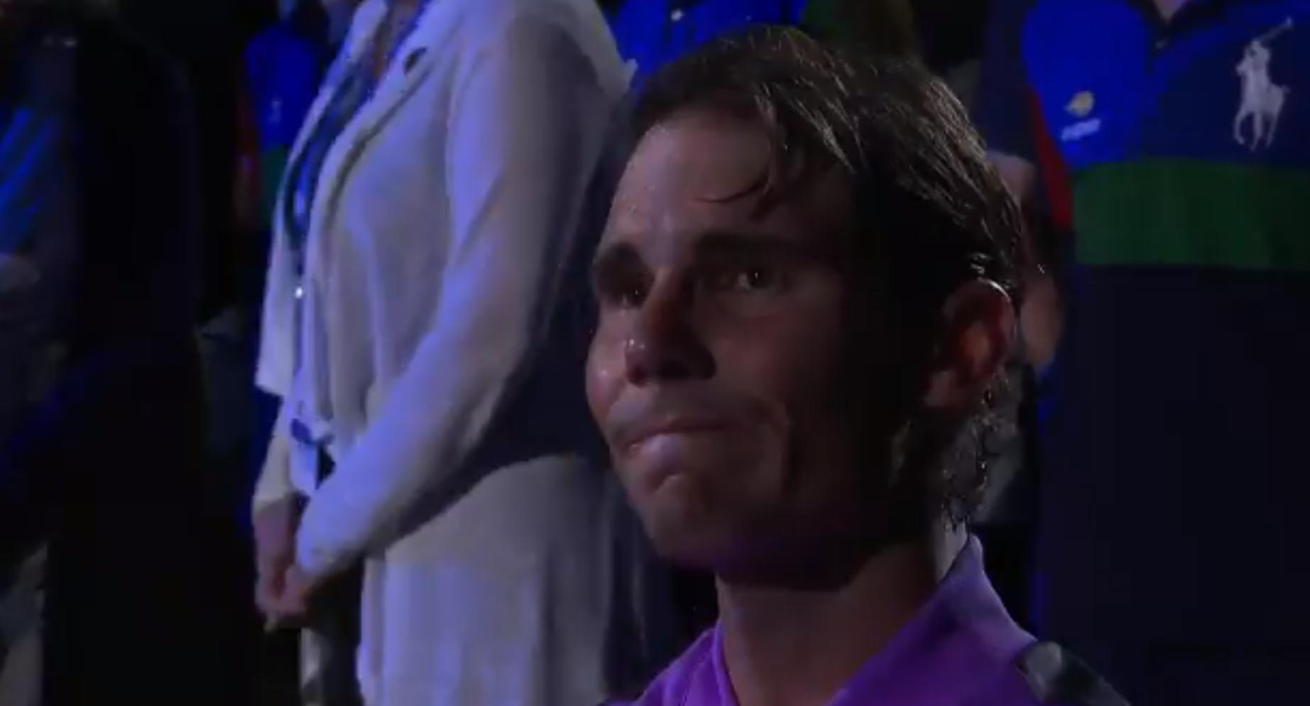 Tennis - US Open - US Open : Nadal submergé par l'émotion après son 19e titre en grand chelem