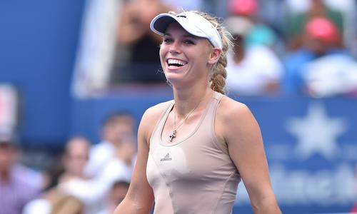 Wozniacki retrouve le sourire - US Open - Tennis -