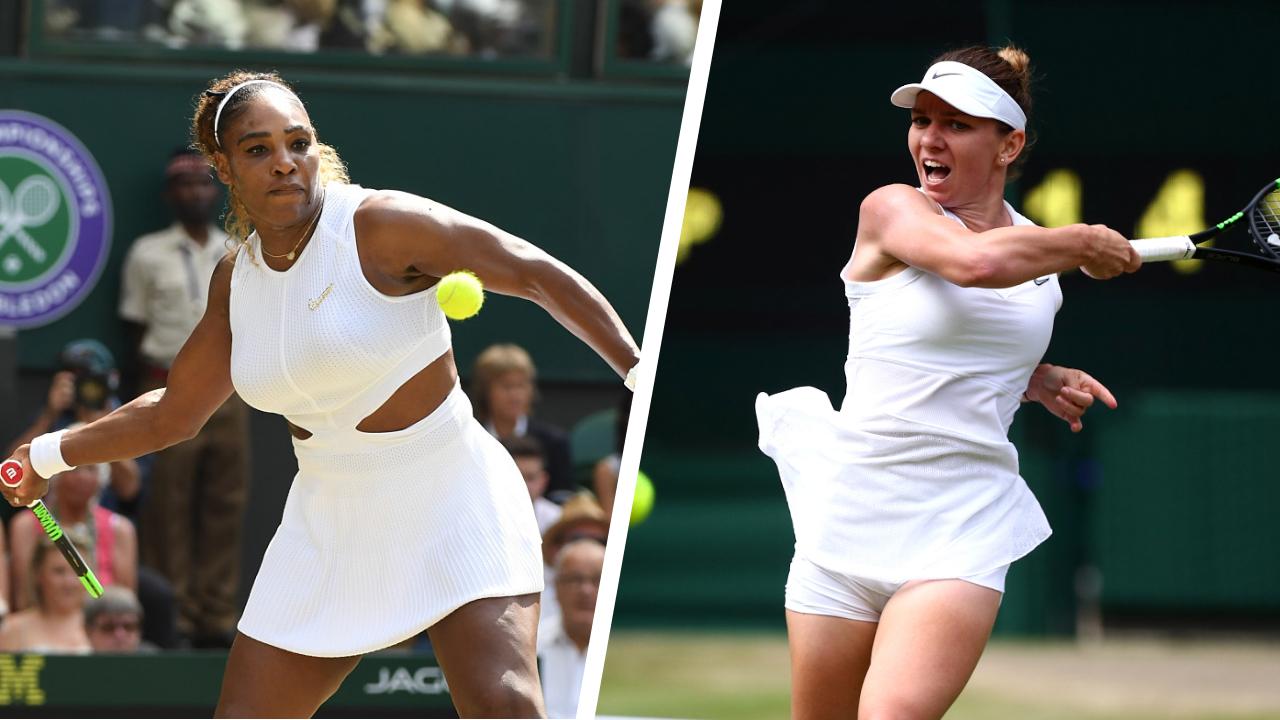 Tennis - Wimbledon - 5 raisons de suivre la finale dames de Wimbledon entre Serena Williams et Simona Halep